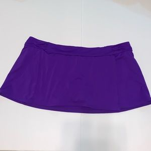 Athleta Sporty Shirred Swim Skirt XL